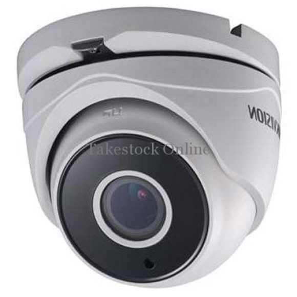 Hikvision Turbo 2MP WDR Motorized VF EXIR Turret Camera, 2.8 - 12mm Lens